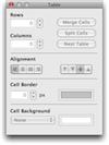 [Table editor]